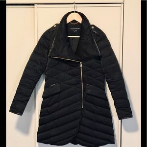 French Connection Black Puffer Coat Sz. XS